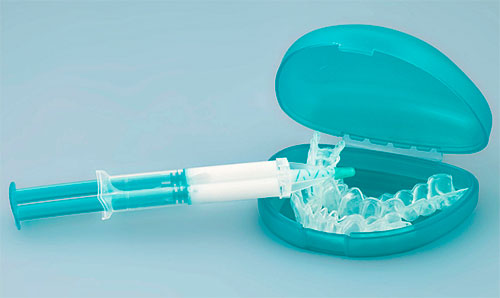 Капы для отбеливания зубов