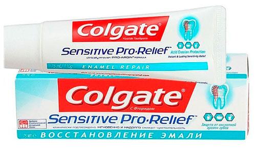 Колгейт «Восстановление эмали» - зубная паста для чувствительных зубов