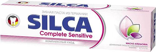 SILCA Complete Sensitive - зубная паста для чувствительных зубов