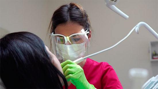 Отбеливание зубов ультразвуком