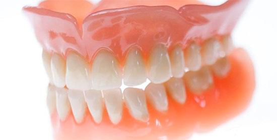 Съемные нейлоновые зубные протезы