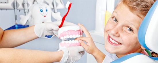 Лечение зубов у детей со средним и глубоким кариесом