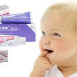 Гели для прорезывания зубов у младенцев