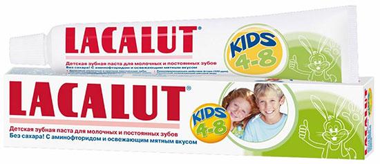 Детские зубные пасты – обзор и отзывы Lakalut