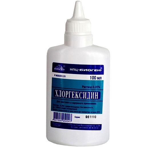 Хлоргексидин для полоскания полости рта – как и когда применяют