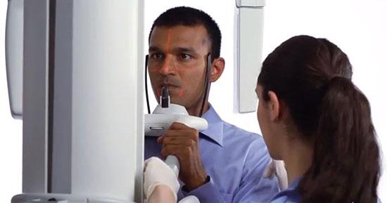 Процедура проведения ортопантомограммы зубов