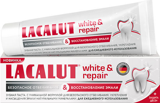 Рейтинг зубных паст - ТОП-10 - Lacalut White