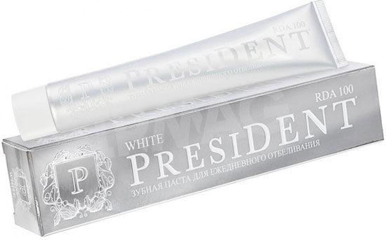 Рейтинг зубных паст - ТОП-10 - President White